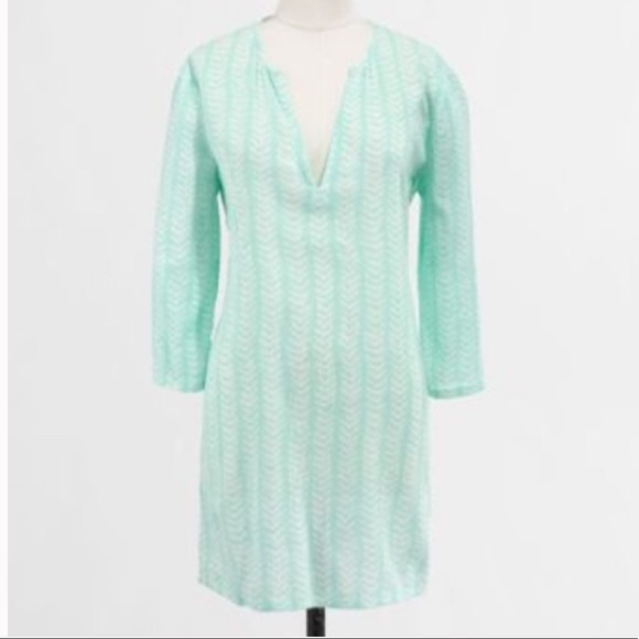 J. Crew Factory Tops - J. Crew Factory Crinkle Tunic in Mint